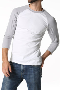 CheapUndies Light Grey Raglan Shirt