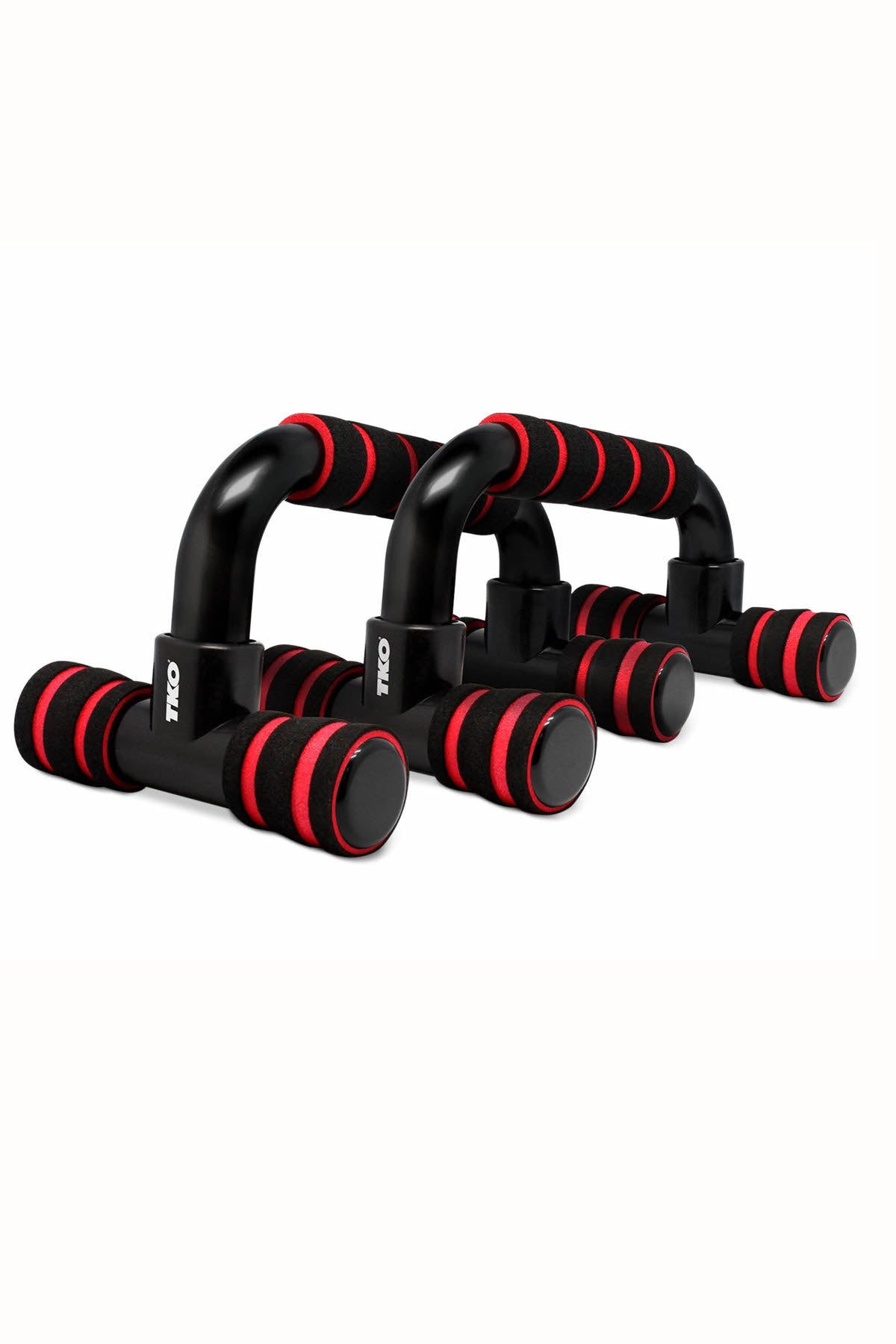 TKO Push Up Bars, Onyx/ Lava