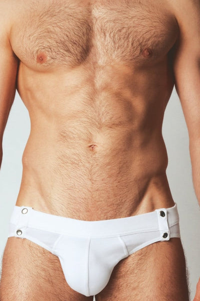 Modus Vivendi White Button-Up Slip