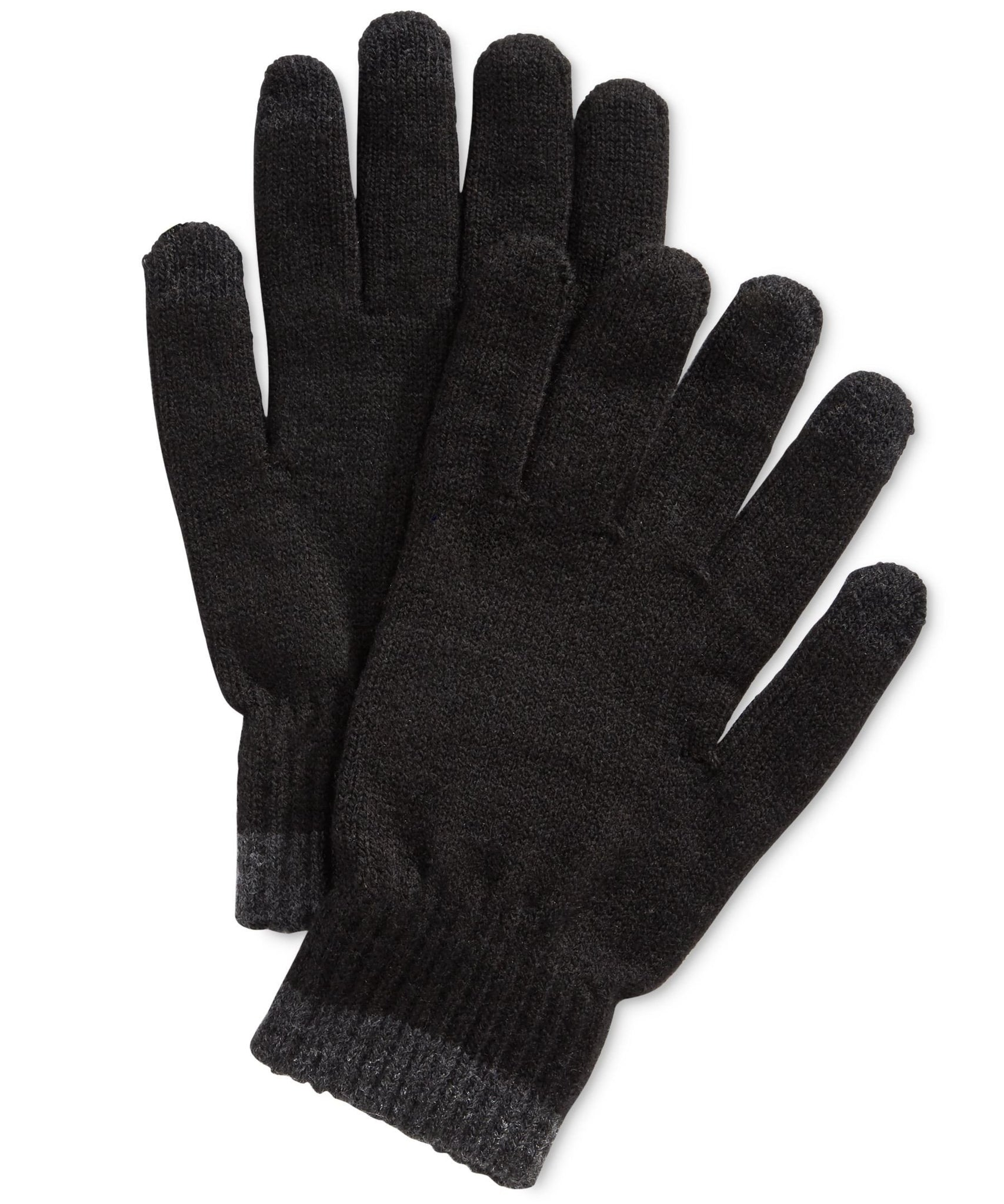 Alfani Texting Gloves Black / Grey One Size Fits Most