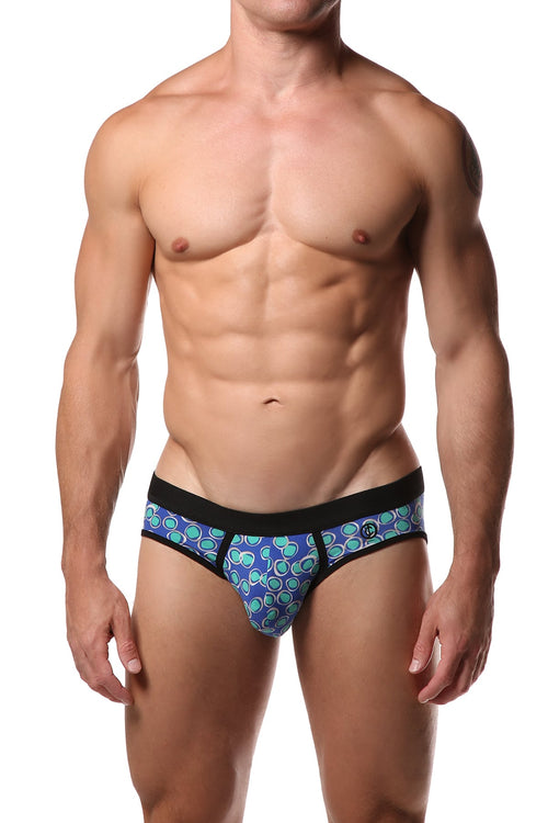 JustinCase Teal Pebble Brief - CheapUndies.com