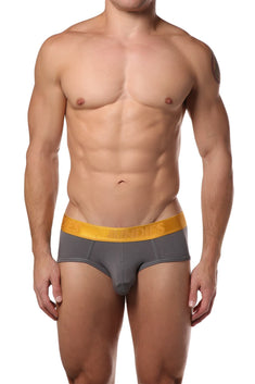 CheapUndies Charcoal Metallic Brief