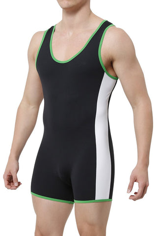 CheapUndies Green Sport Singlet