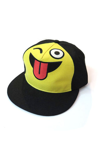 Marco Marco Tongue Out Emoji Snapback