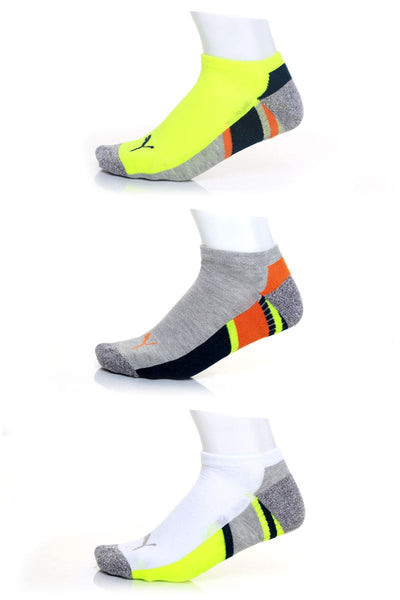 Puma 463 Allsport No-Show Sock 3-Pack