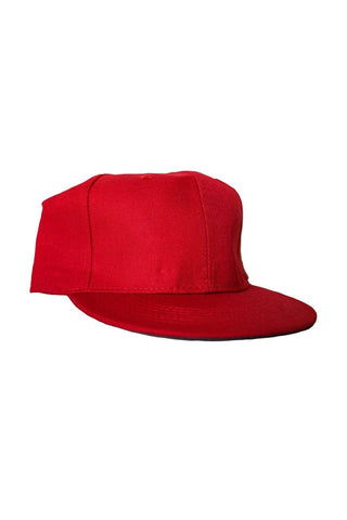 Project 7 Red Snapback Cap