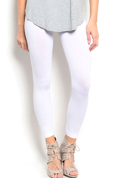 Soho Girls White Seamless Leggings