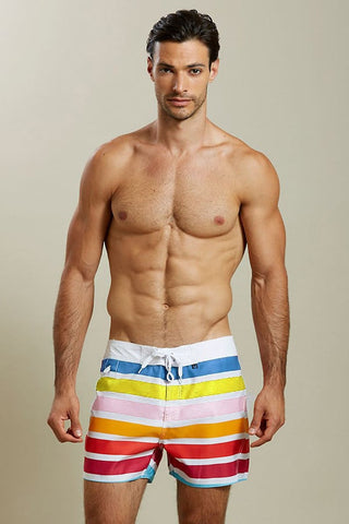 Hades Multi Stripe Swim Trunk