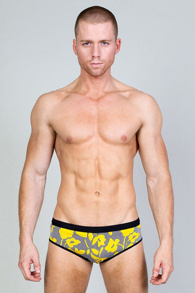 Timoteo Royal Blue Convertible Low-Rise Swim Brief