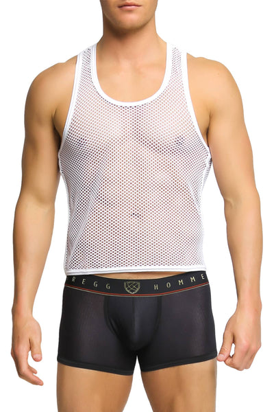 Gregg Homme White Beyond Doubt Tank Top - CheapUndies.com