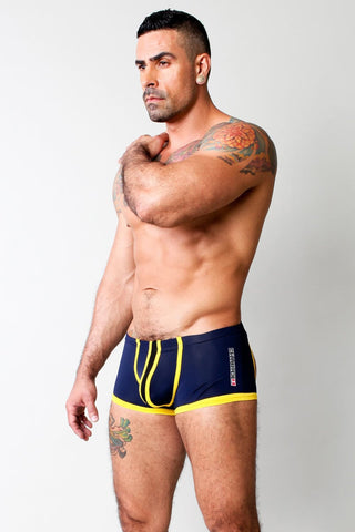 Cellblock 13 Navy & Yellow Asylum Jock Trunk