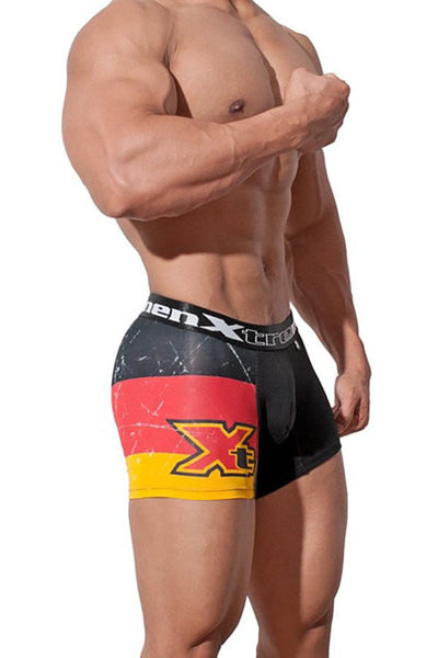 XTREMEN Black Estam En Costad Boxer