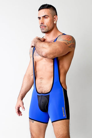 Timoteo Blue G-Force Singlet