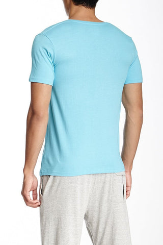Bottoms Out Light Blue Classic V-Neck