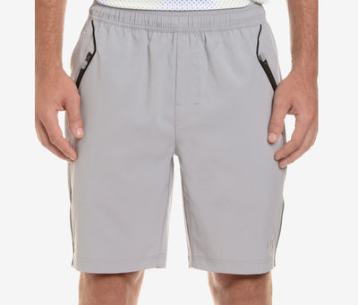 2(X)IST Grey Trainer-Tech Mesh Lined Short - CheapUndies.com