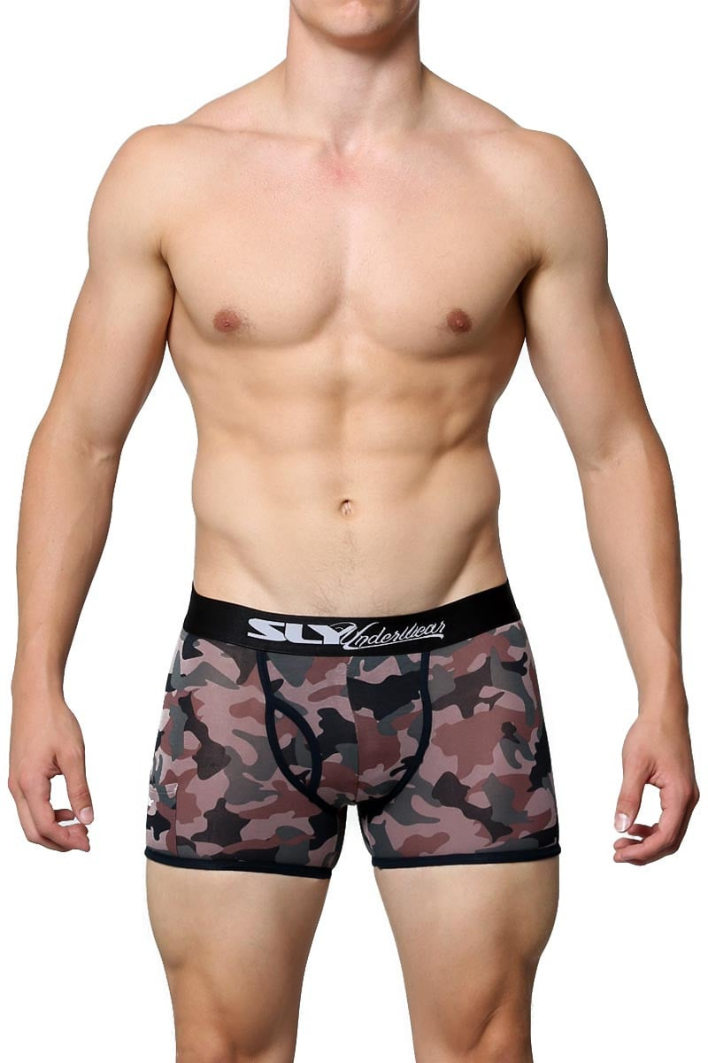 Sly Camoflage Boxer Brief