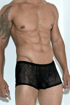 Andres Velasco Black Sheer Marrakesh Trunk