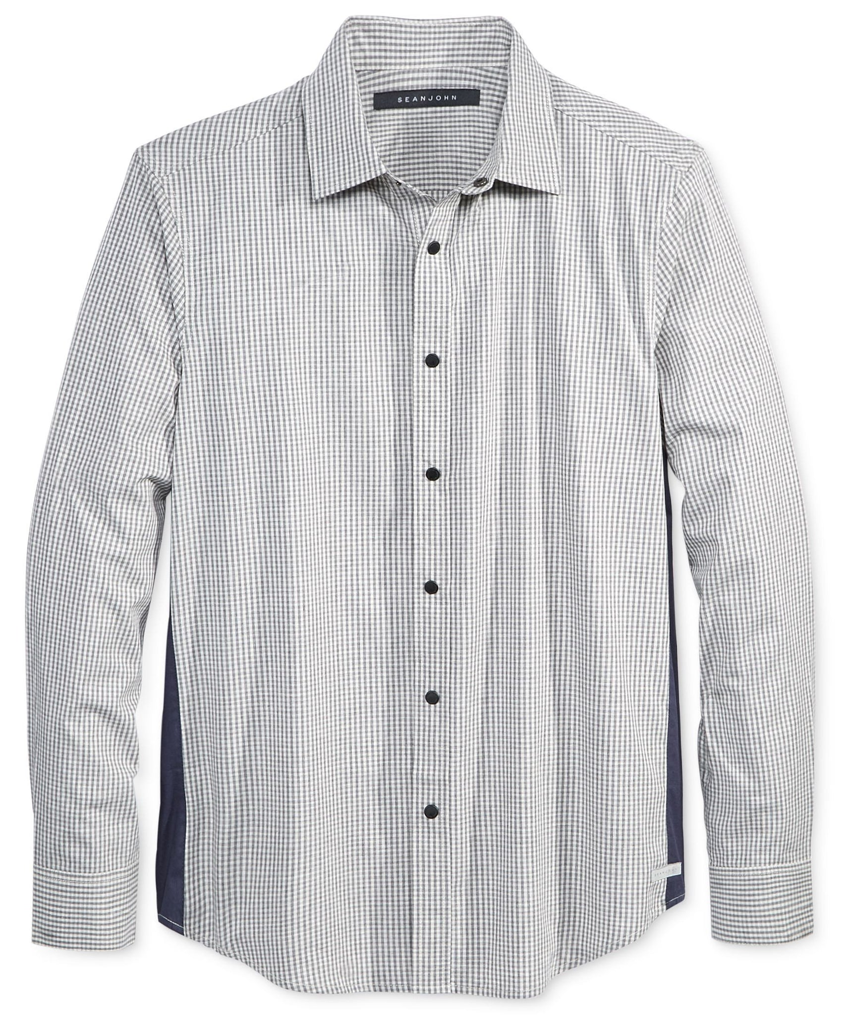 Sean John Men's Side Detail Shirt