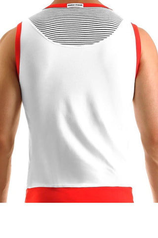 Modus Vivendi Red Sailor Tank Top
