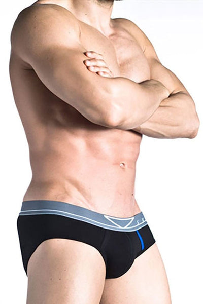 Skmpeez Black Clazzic Brief