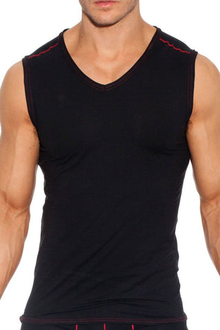 Gregg Homme Black Charged Muscle Shirt