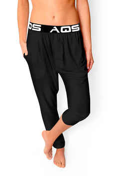 AQS Black Loungewear Pant