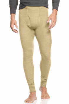 Alfani Oatmeal Heather Thermal Knit Waffle Pant