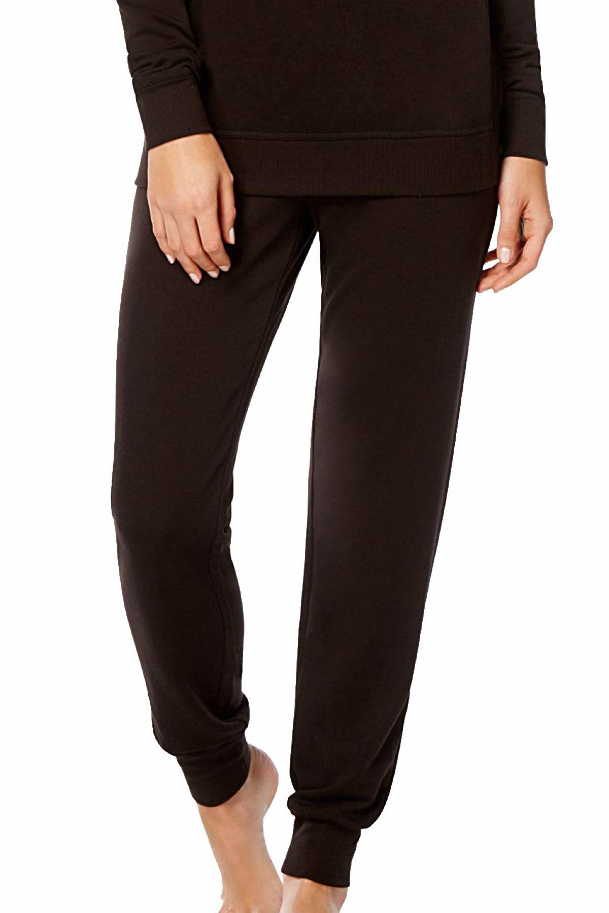 Alfani PLUS Jogger Lounge Pant in Black