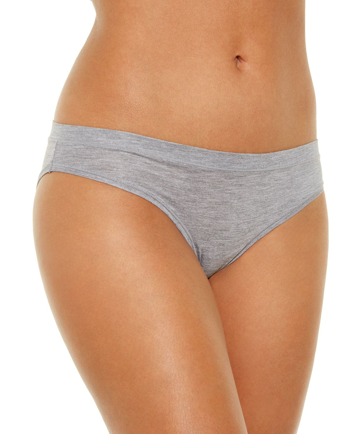 Alfani Ultra Soft Mix-and-match Bikini Underwear Heather Grey