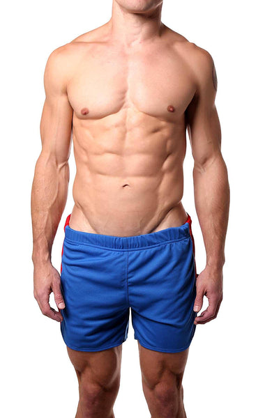 American Jock Royal Spring Running Short w Built-in Jock