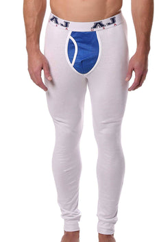American Jock White/Royal Compete Long John