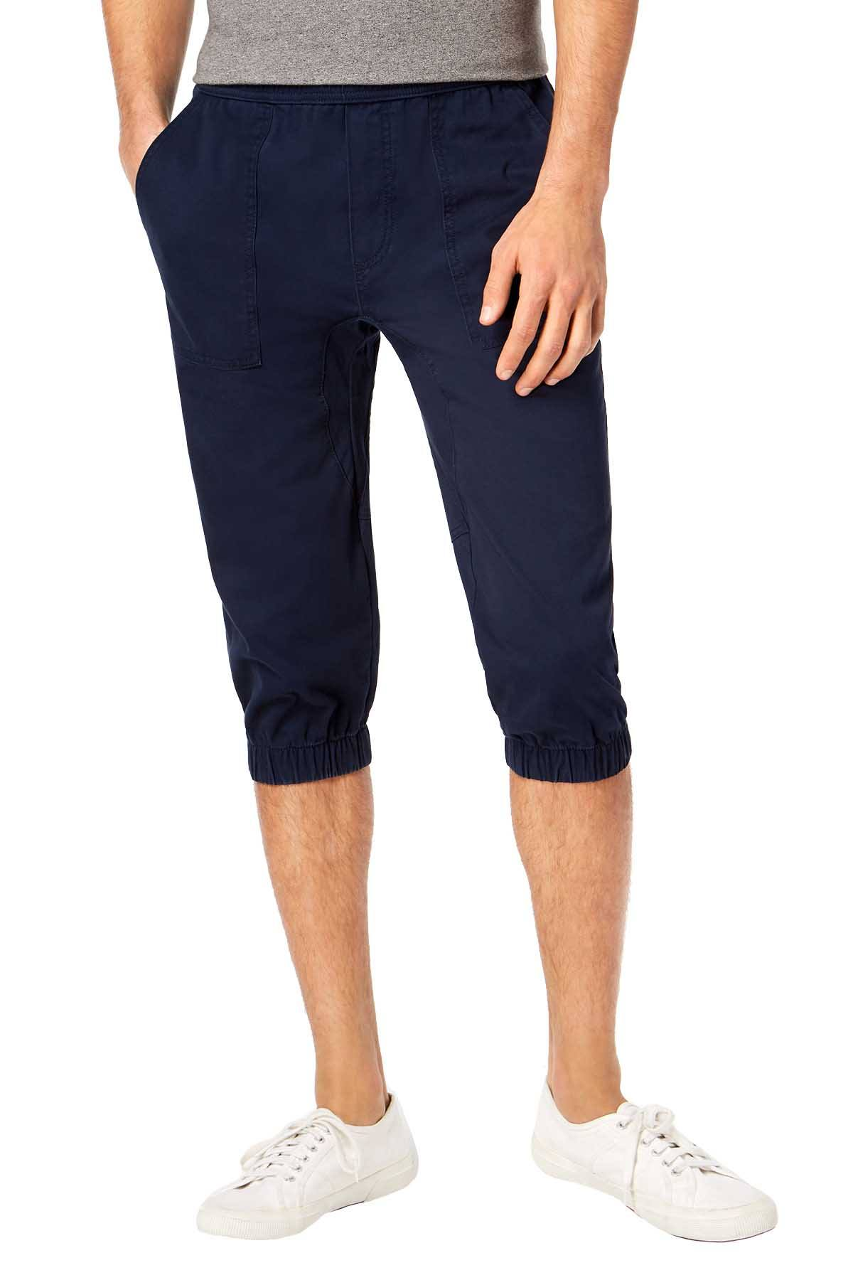 American Rag Basic Navy Stretch Cropped Jogger