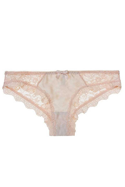 Ampere Lingerie Beige Lily Brief - Medium & Large