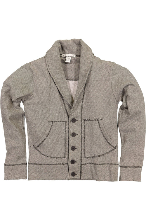 Andres Velasco Grey Sid Sweater-Jacket - CheapUndies.com