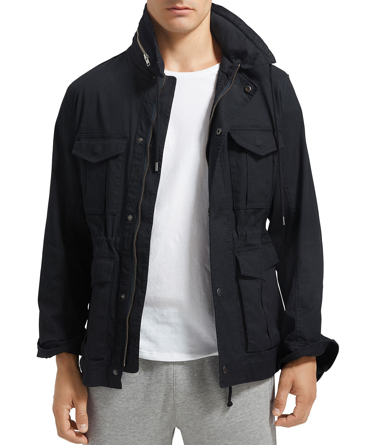 Anthony Thomas Melillo Field Jacket Black