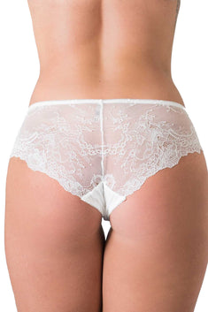 Áo White Isabel Knickers