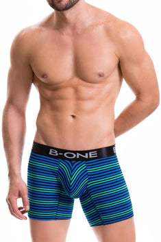 B-One by JOR Blue Lincoln Boxer Brief