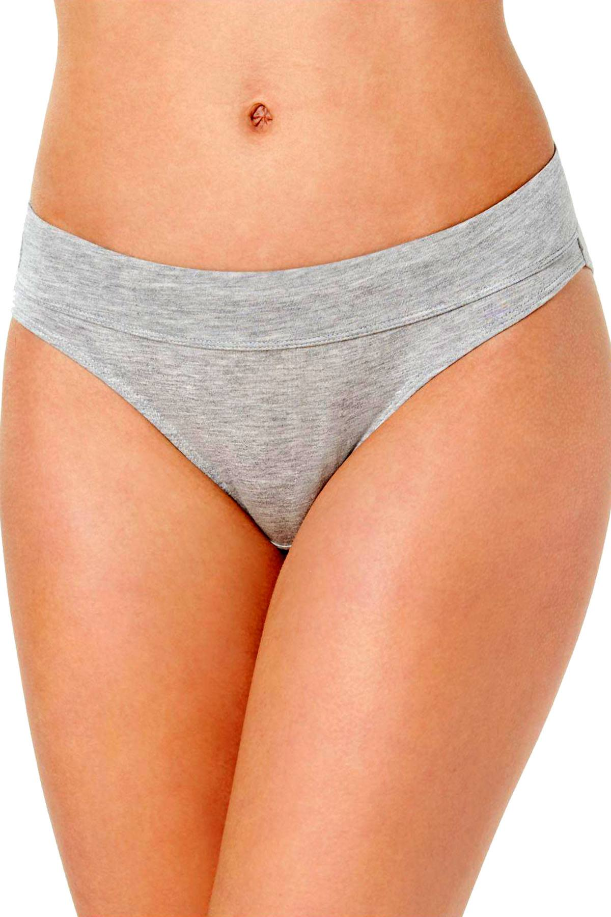 Bali Heather Grey Incredibly Soft Bikini Brief