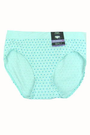 Bali Ice-Fall-Dot One Smooth U Over Hi-Cut Panty