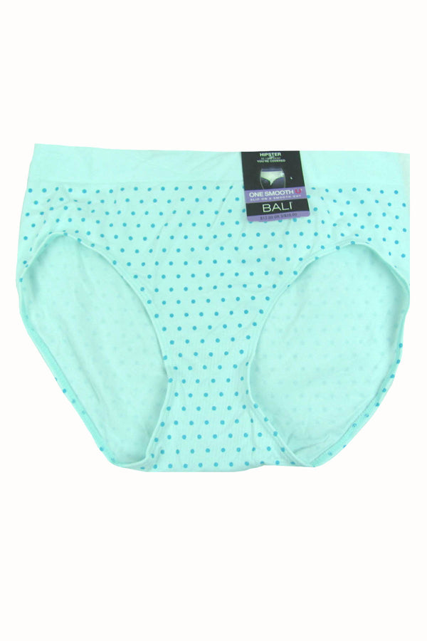 Bali Ice-Fall-Dot One Smooth U Over Hi-Cut Panty - CheapUndies.com