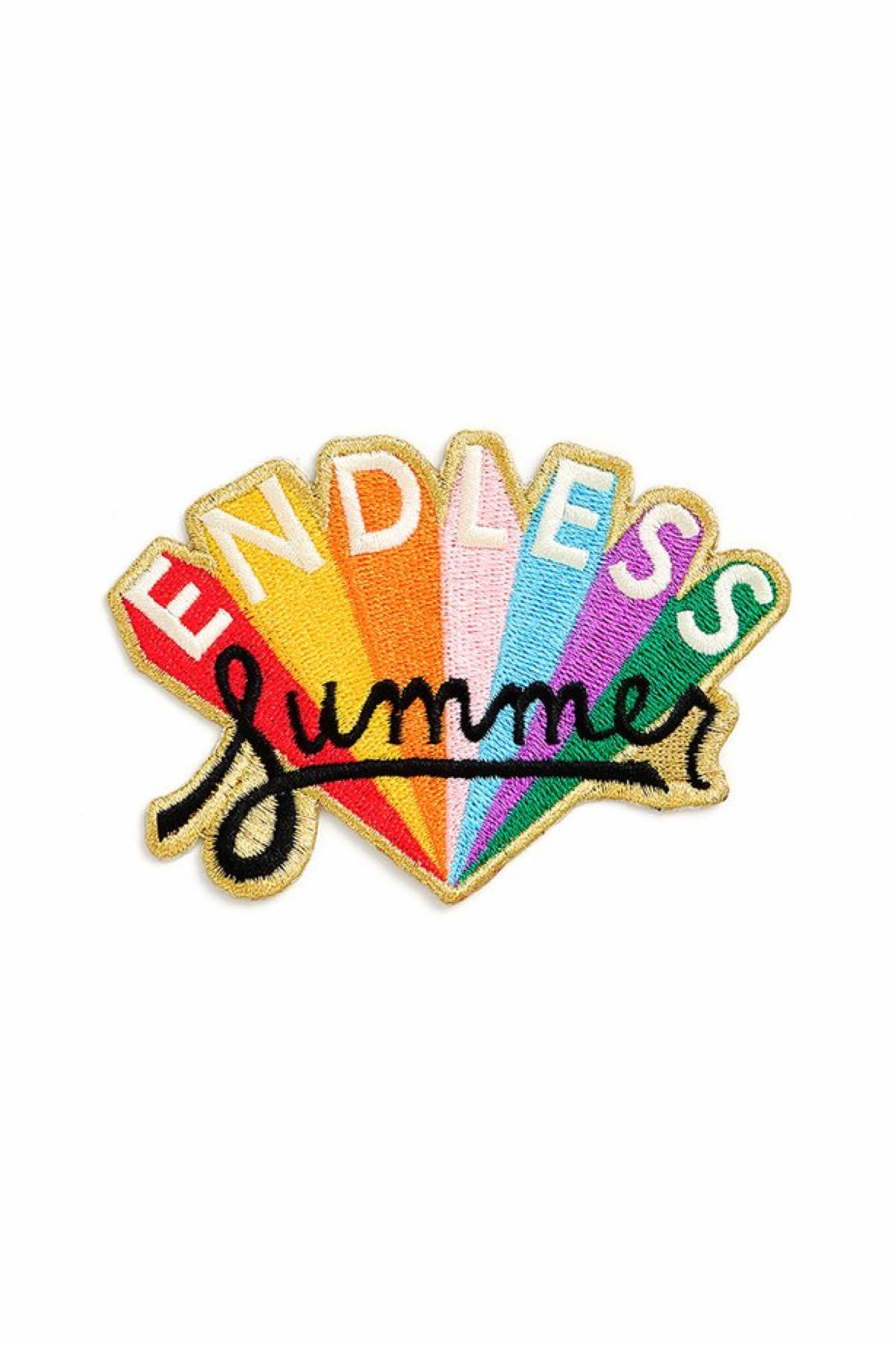 Ban.do Endless Summer Embroidered Patch