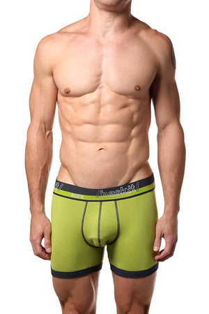 Baskit Palm-Green Pure Boxer Brief