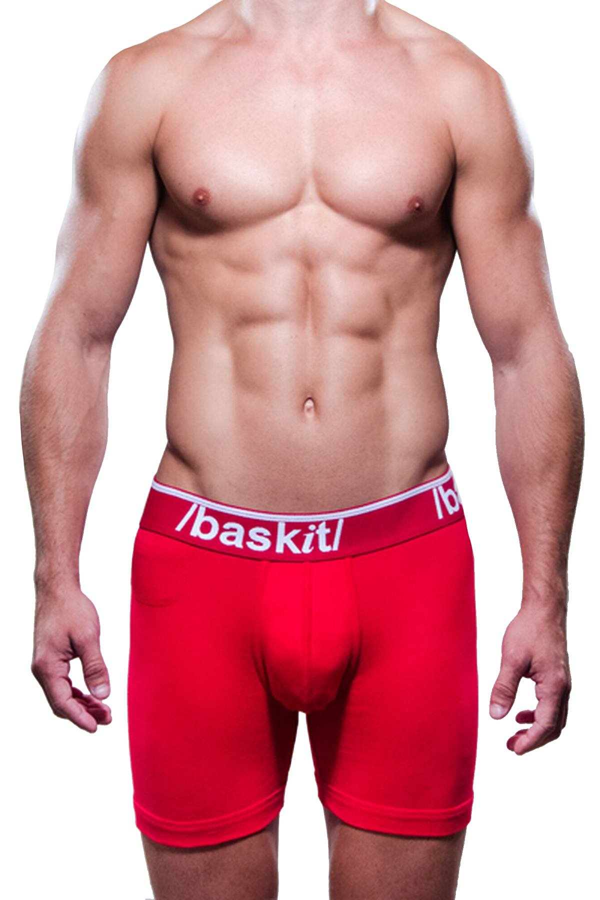 Baskit Red Billy Boy Boxer Brief
