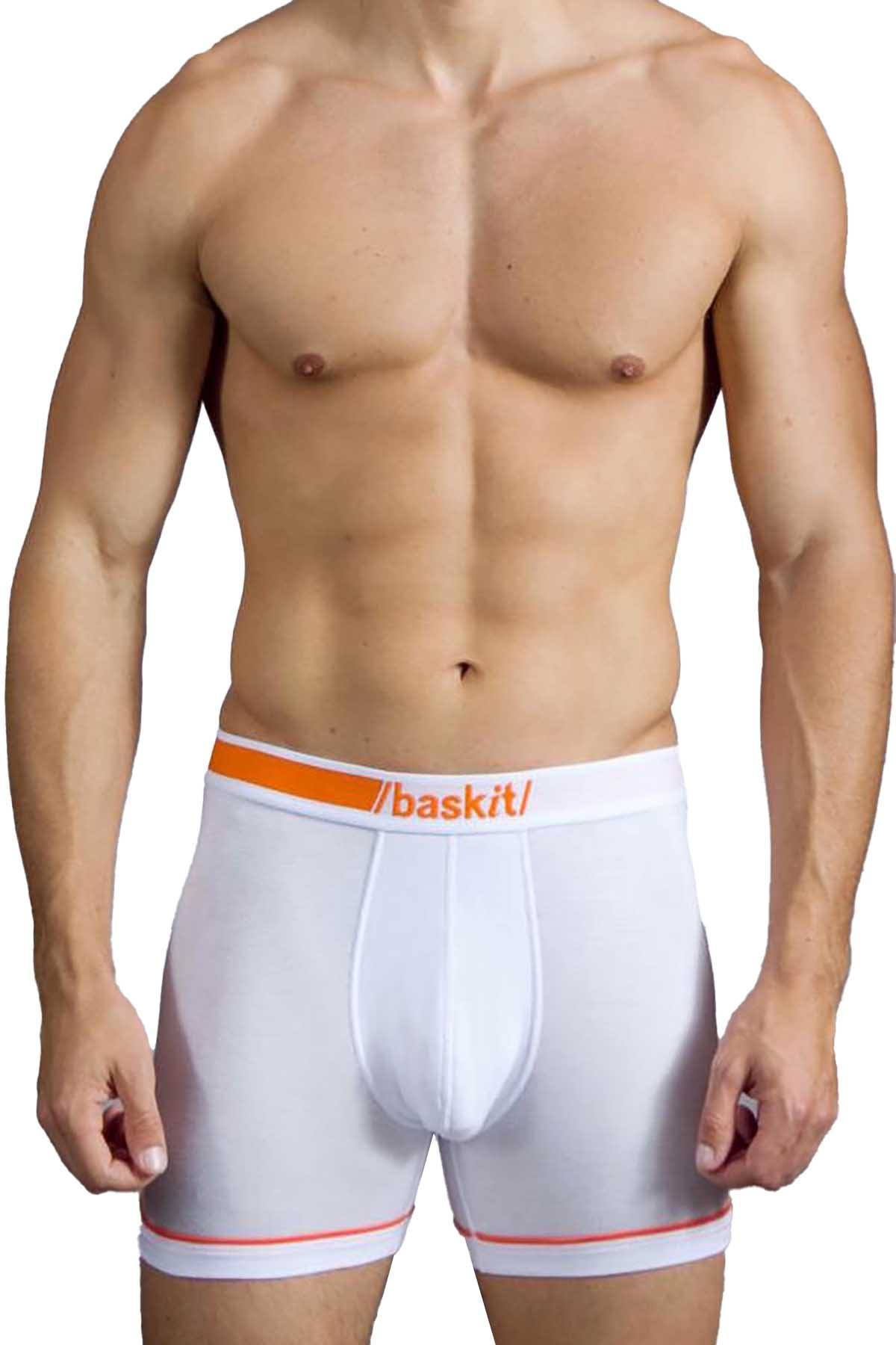 Baskit White (de)luxe boxer brief