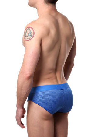 Berry London Blue Mesh Brief