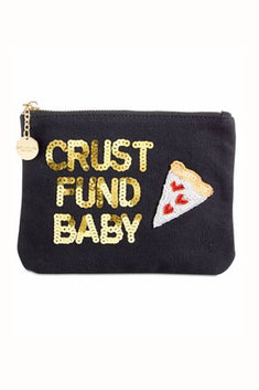 Bow & Drape Crust Fund Zip Pouch