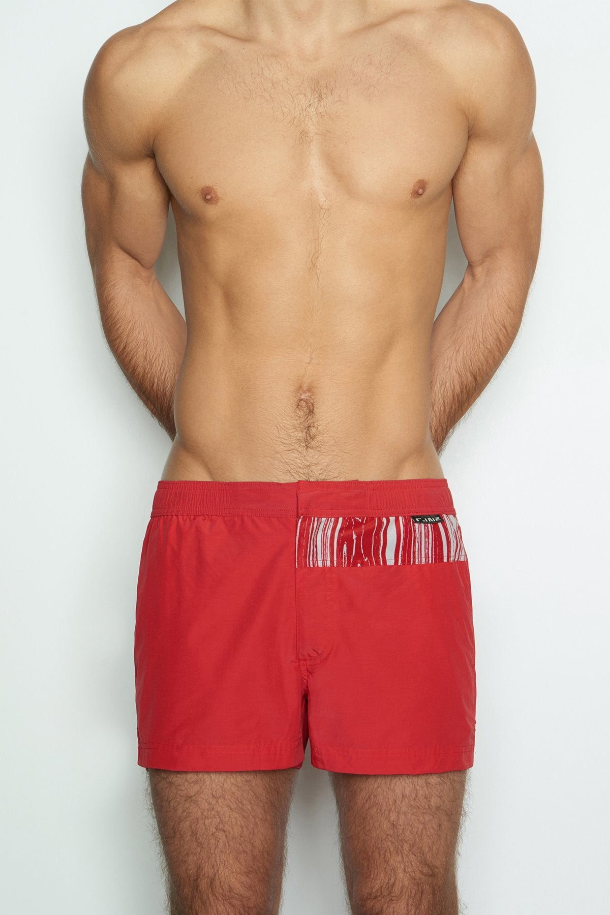 C-IN2 False-Alarm Rust Woven Swim Short