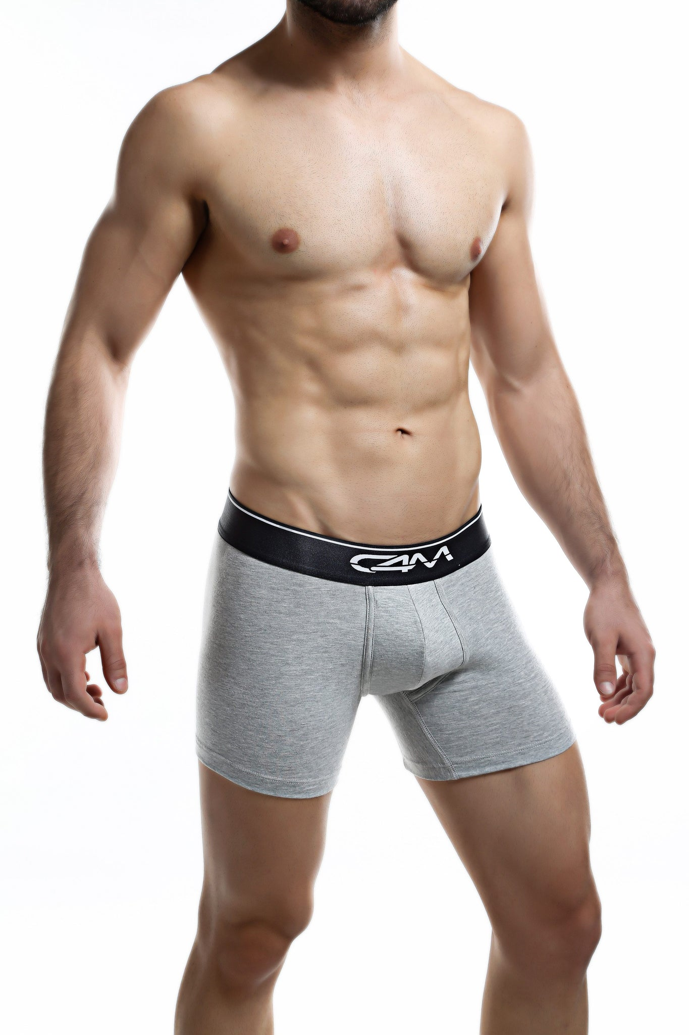 C4M Grey Elemental Boxer Brief