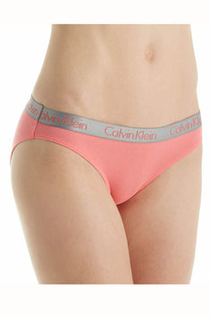 Calvin Klein Coral Radiant Cotton Bikini Brief