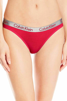 Calvin Klein Empower-Red Radiant Cotton Thong